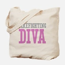 Firefighting DIVA Tote Bag