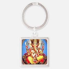 Ganesh / Ganesha Indian Elephant Hindu D Keychains