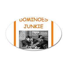 dominoes joke Wall Decal