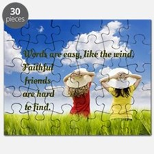 Faithful Friends Are Hard To Find Puzzle
