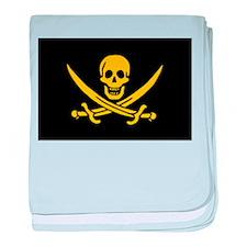 pirate-guld baby blanket
