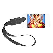 Ganesh / Ganesha Indian Elephant Luggage Tag