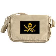 pirate-guld Messenger Bag
