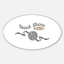 STOCK SHOW AND RODEO Decal