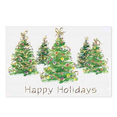 Holiday Greeting Postcards (Package of 8)