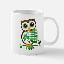 St Patrick's Day Owl Mugs