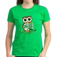 St Patrick's Day Owl T-Shirt