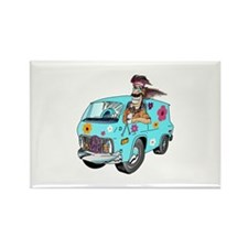 HIPPY VAN Magnets