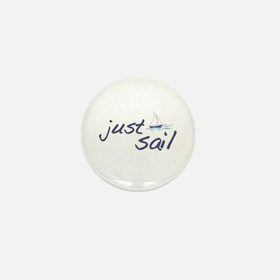 Just Sail Mini Button