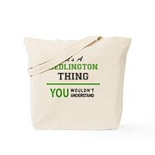 Unique Bedlingtons Tote Bag