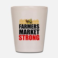 Farmers Market Strong Shot Glass