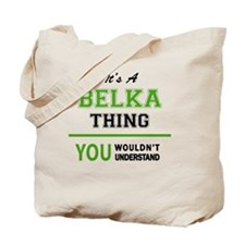Cute Belka Tote Bag