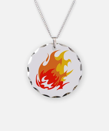 BALL OF FLAMES Necklace