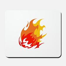 BALL OF FLAMES Mousepad