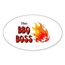 THE BBQ BOSS Decal