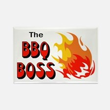 THE BBQ BOSS Magnets