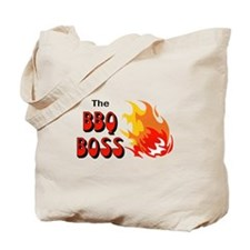 THE BBQ BOSS Tote Bag