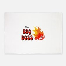 THE BBQ BOSS 5'x7'Area Rug