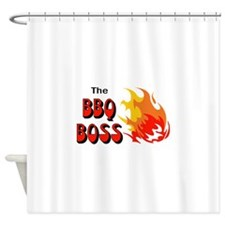 THE BBQ BOSS Shower Curtain
