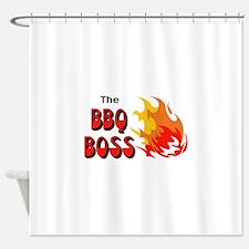 THE BBQ BOSS Shower Curtain