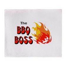 THE BBQ BOSS Throw Blanket