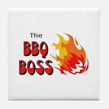 THE BBQ BOSS Tile Coaster