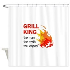 GRILL KING LEGEND Shower Curtain