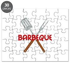 BARBEQUE UTENSILS Puzzle