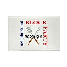 NEIGHBORHOOD BLOCK PARTY Magnets