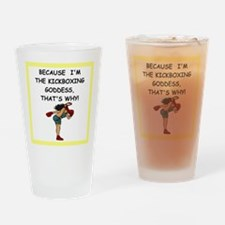 martial arts jokes Drinking Glass