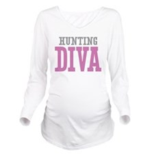 Hunting DIVA Long Sleeve Maternity T-Shirt