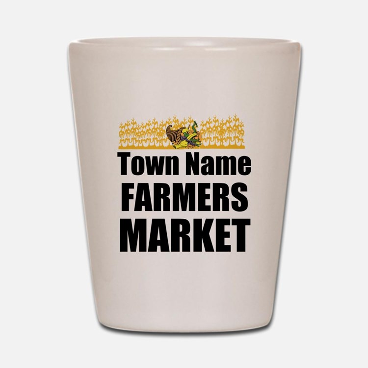 Farmers Market Shot Glass