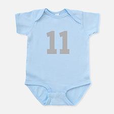 SILVER #11 Infant Bodysuit