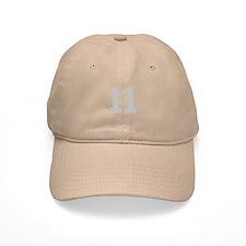 SILVER #11 Baseball Cap