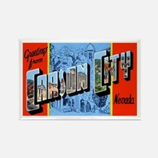 Carson City Nevada Rectangle Magnet
