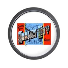 Carson City Nevada Wall Clock