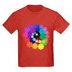 Florescent Art Kids Dark T-Shirt