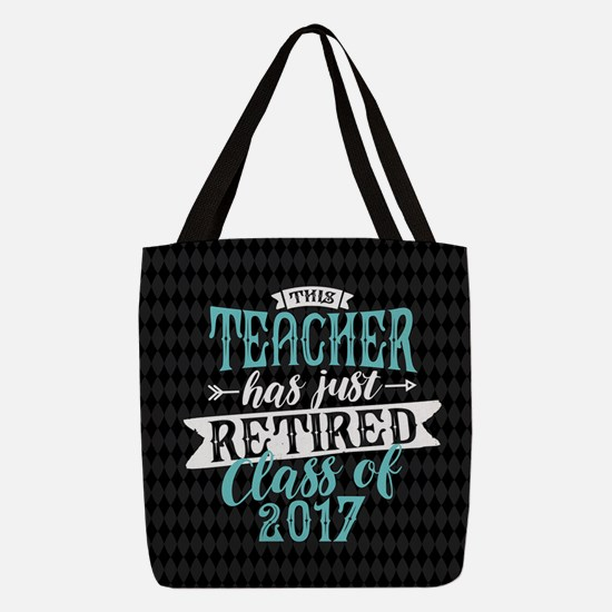 Retired Teacher Polyester Tote Bag