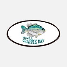 HAVE A CRAPPIE DAY Patches