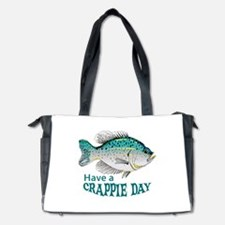 HAVE A CRAPPIE DAY Diaper Bag