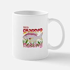 RED SNAPPER FISHING Mugs