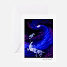 Unicorns in Space Greeting Cards (Pk of 10)