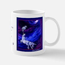 Unicorns in Space Small Mug