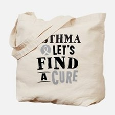Asthma Lets Find A Cure Tote Bag