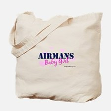 Airman's Baby Girl, USAF Tote Bag