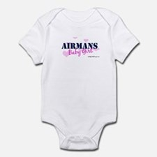Airman's Baby Girl, USAF Infant Bodysuit