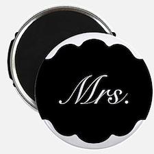 Mrs. Vintage Wedding Magnets