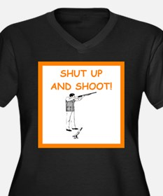 trap shooting joke Plus Size T-Shirt