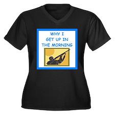 trap shooting joke Plus Size T-Shirt