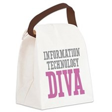 Information Technology DIVA Canvas Lunch Bag